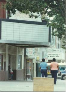 1980's look at the Aurora Theatre Baltimore