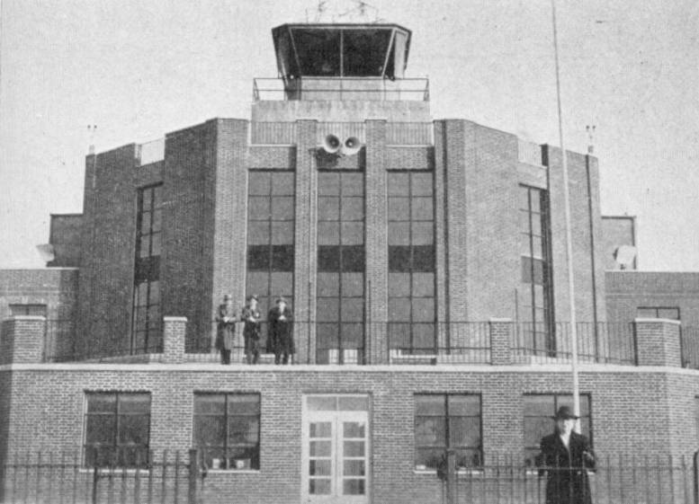 Municipal Airport Baltimore 1940