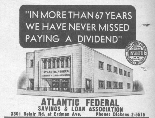 Atlantic Federal Savings Bank Baltimore