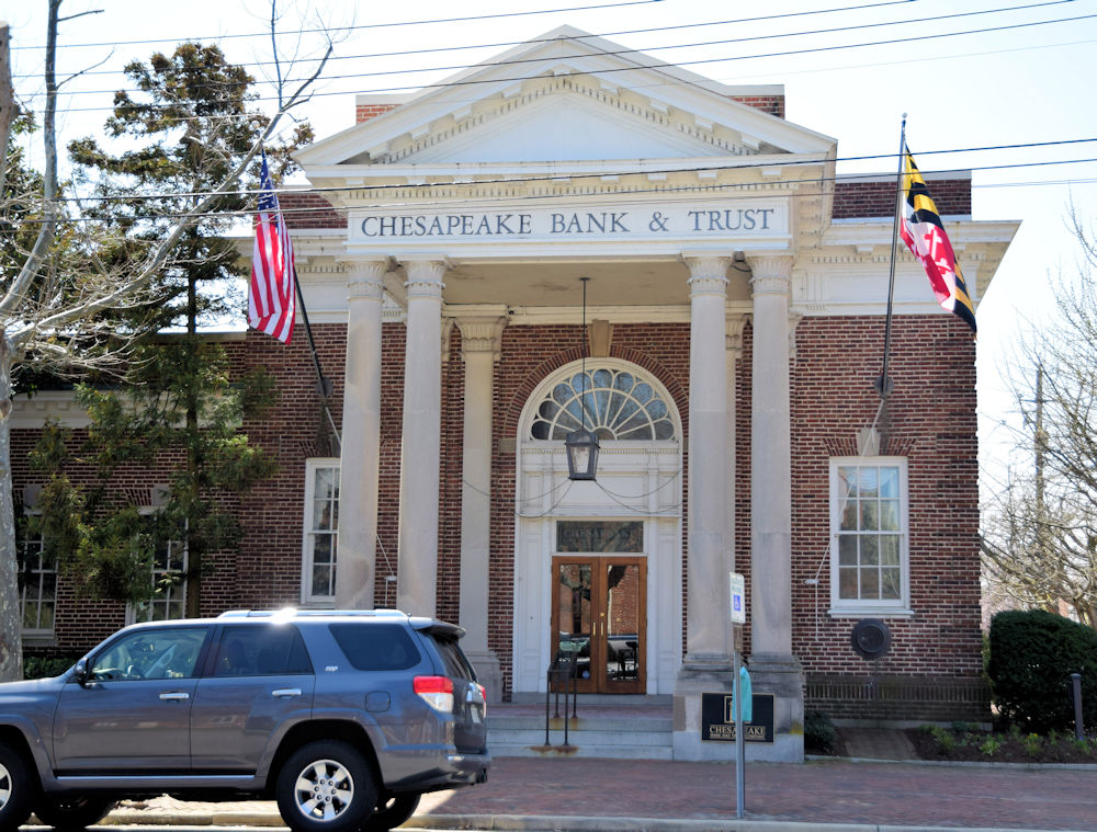 Chestertown Maryland bank