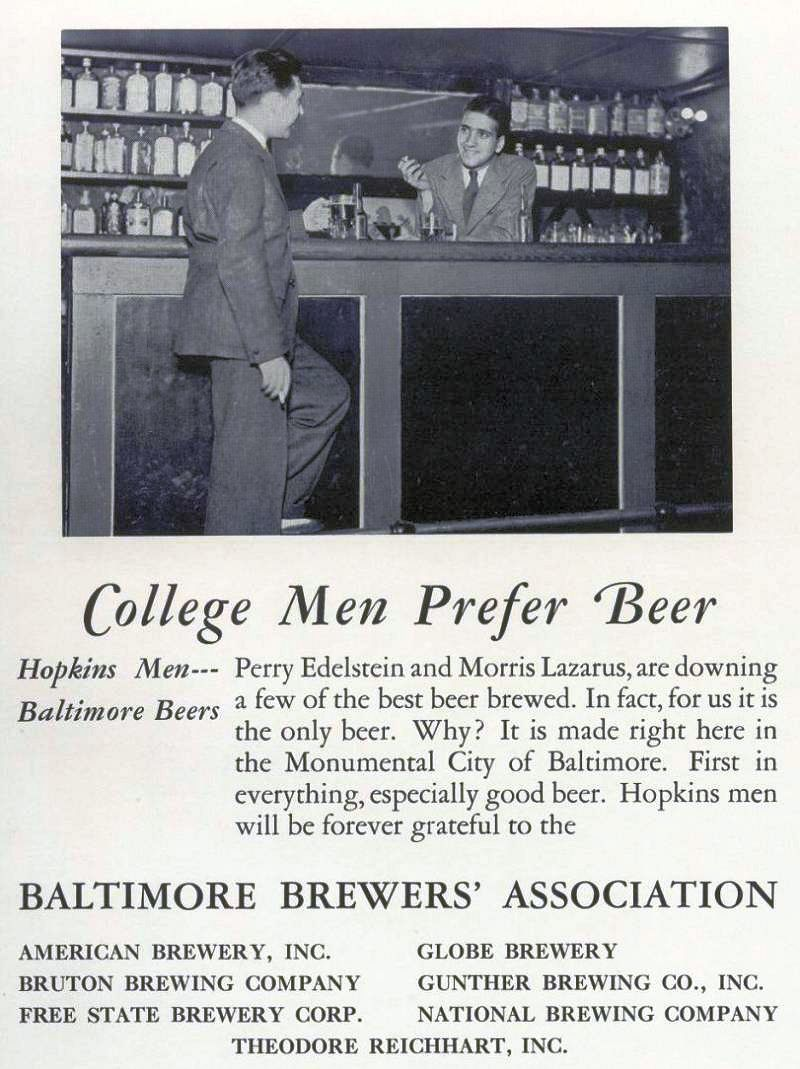 College men prefer beer