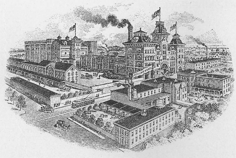 old american brewery on gay street