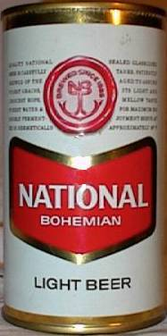 National Boh beer can