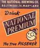 National Premium Beer Baltimore