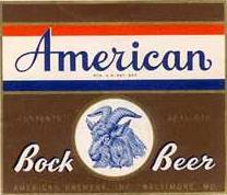 American Bock Beer Baltimore