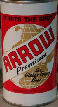 Arrow Premuim                 Beer Can Baltimore