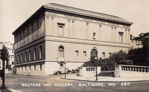 Walthers Art Gallery Baltimoere