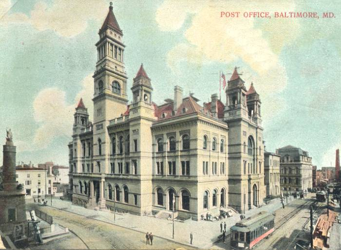 Baltimore's Old Post Office
