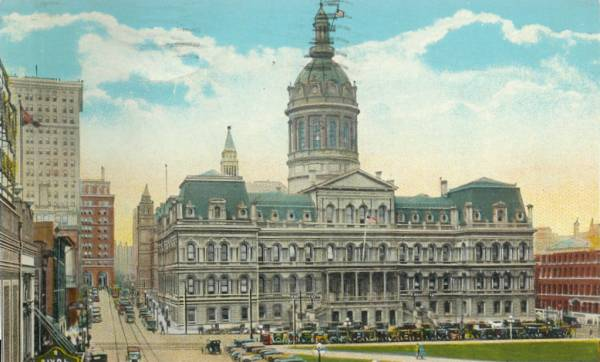Baltimore City Hall Building