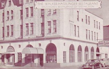 Hassingers Restaurant Baltimore North Charles Street