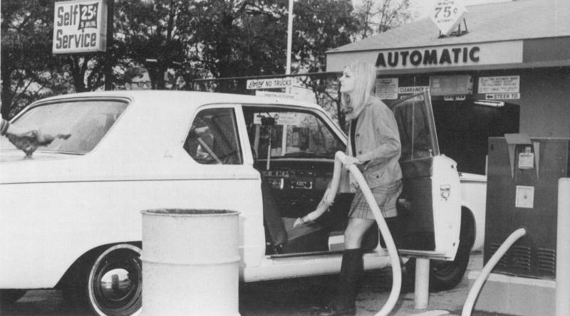 Ferndale Maryland car wash 1970's