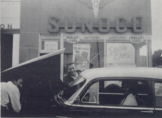 1957 Sunoco station Glen Burnie