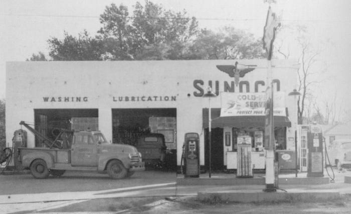 My 1928 Chevrolet Old Gas Stations From Baltimore Usa