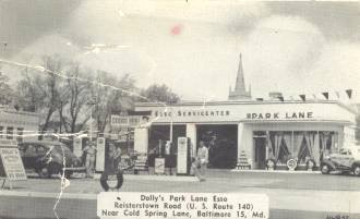 Reisterstown Road Esso Station Baltimore