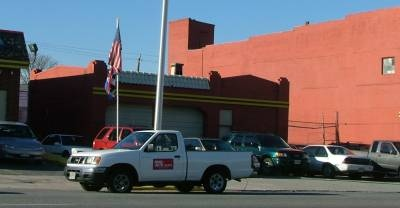 Baltimore Gas Station Fulton Avenue