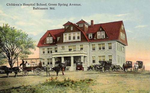 Children's Hospital, Grrenspring Avenue, Baltimore Maryland