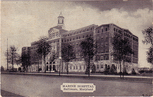 Marine Hospital, Baltimore