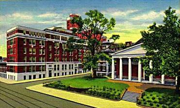 University of Maryand Hospital, Greene Street , Baltimore Maryland