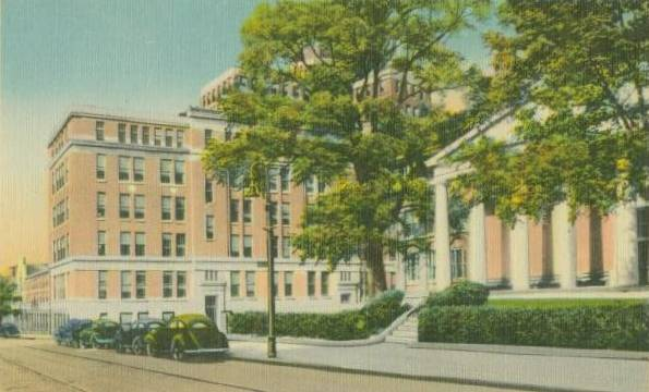 Univeristy Hospital, Baltimore Maryland