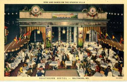 Southern Hotel, Baltimore