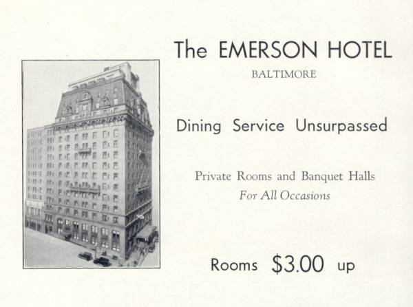 Emerson Hotel Baltimore