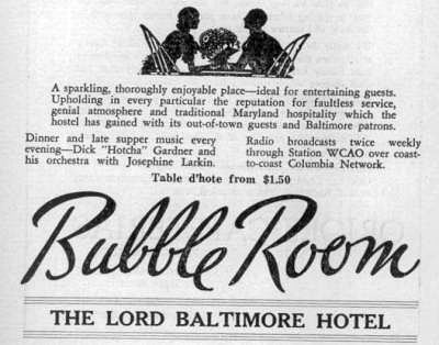 Bubble Room Baltimore