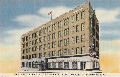 Baltimore's Biltmore Hotel, Paca and Fayette