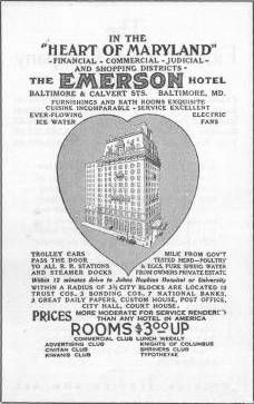 Emerson Hotel, Baltimore