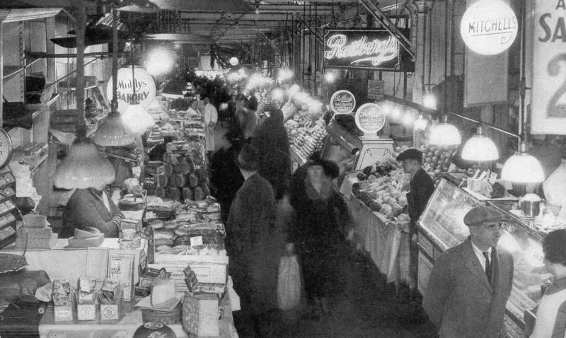 Baltimore's Lexington Market 1935