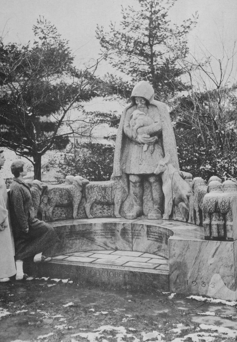 Reese               Monument , Baltimore 1957