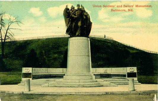Baltimore's Union Soldiers and Sailors Monument