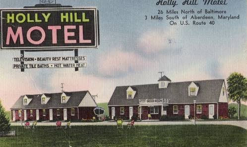 Holly Hill Motel, Belcamp Maryland