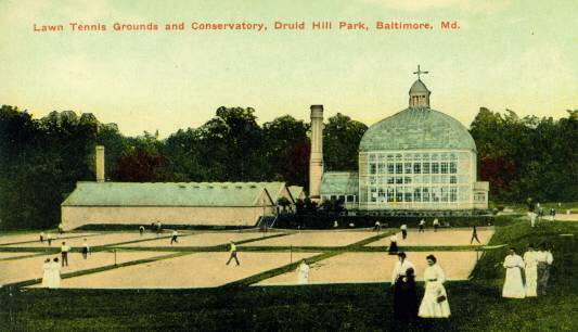 Tennis Courts Druid Hill Park Baltimore