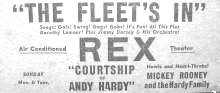 Rex Theater ad Baltimore