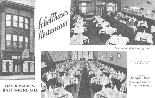 Schellase Restaurant Baltimore