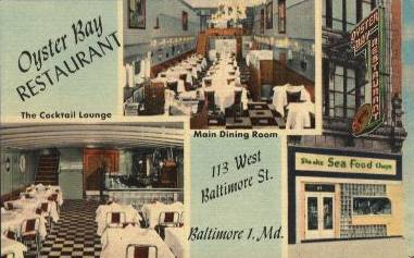 Oyster Bay Restaurant Baltimore