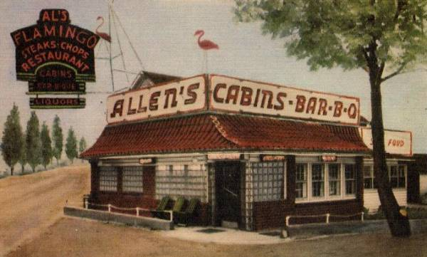 Allen's               Cabins BBQ Laurel Md Rt 1