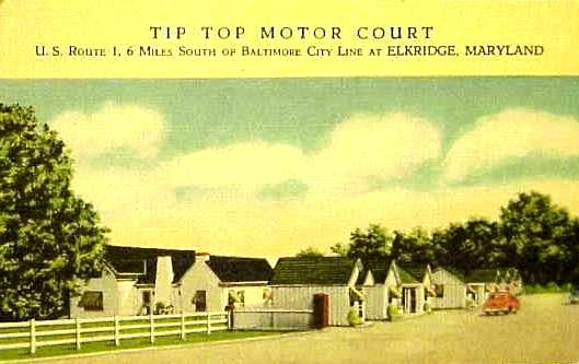 Tip Top Motor Court Elkridge Md