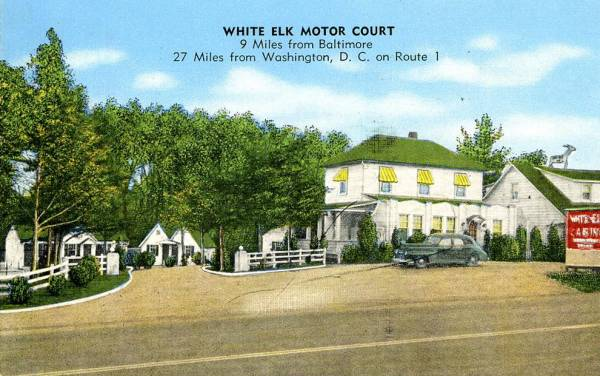 White Elk Motel Elkridge Maryland
