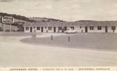Jefferson Motel Jefferosn Maryland Rt 340