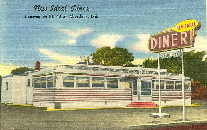 New Ideal Diner Aberdeen Maryland