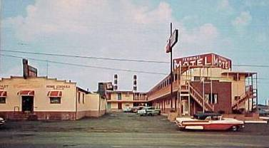 Terminal Motel North Point Rd Baltimore 1950s