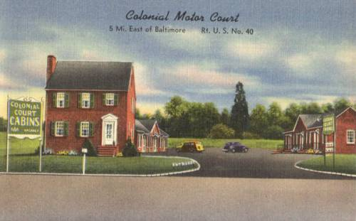 Colonial Motor Court Baltimore