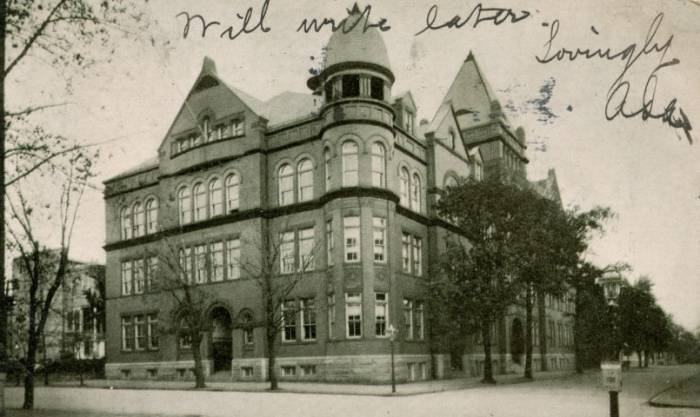 Baltimore's old Western High School