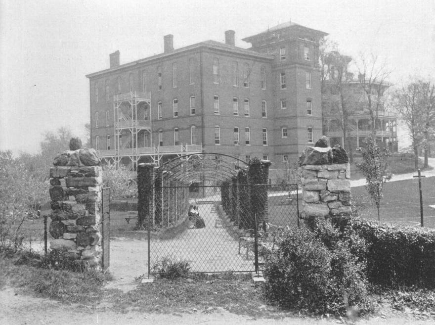 Mt St Agnes College Baltimore Atkinson Hall 1942