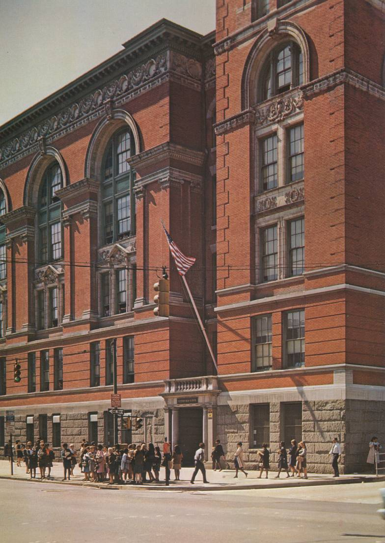 Baltimore's Western High School 1967