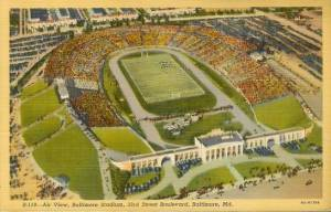Municipal Stadium Baltimore Maryland