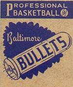 Baltimore Bullets, professional basketball