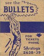 Baltimore Bullets, professional basket ball