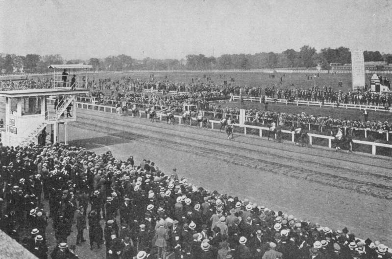 Pimlico Race Track Baltimore 1920's